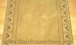 Nourison Ashton Velvet Stair Runner Light Gold