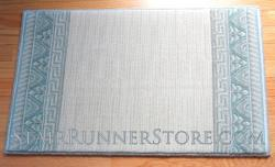 Nourison Ashton Velvet Stair Runner Blue