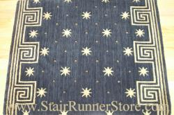 Nourison Celestial Stair Runner Midnight 30""