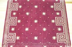 Nourison Celestial Stair Runner Red 36""
