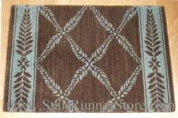 Nourison Chateau Normandy Stair Runner BrownGreen 27""