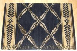 Nourison Chateau Normandy Stair Runner Onyx 27""