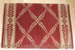 Nourison Chateau Normandy Stair Runner Ruby 36""