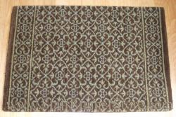 Nourison Chateau Riems Stair Runner BrownStone 27""