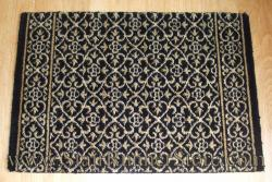 Nourison Chateau Riems Stair Runner Onyx 27""