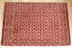 Nourison Chateau Riems Stair Runner Ruby 27""