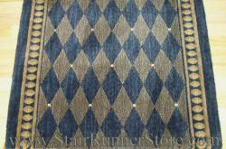 Nourison Marquis Stair Runner Midnight 36""