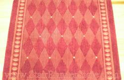 Nourison Marquis Stair Runner Red 36""