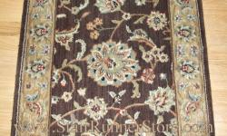 Nourison Persian Jewel Stair Runner Brownstone 27""
