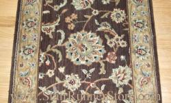 Nourison Persian Jewel Stair Runner Brownstone 36""