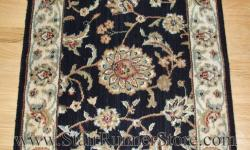 Nourison Persian Jewel Stair Runner Onyx 27""