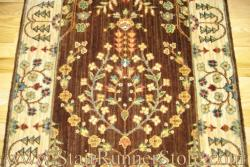 Nourison Sarouk Stair Runner Brown 30""