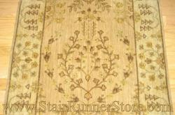 Nourison Sarouk Stair Runner Brush 30""