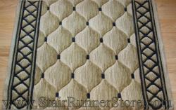Nourison Shadolure Stair Runner Beige 36""