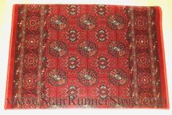 Old World Classics Narayan Stair Runner Garnet 26""