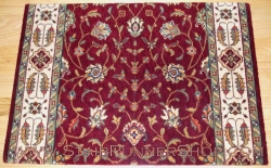 Persian Garden Stair Runner 08 Red