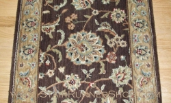 Persian Jewel Stair Runner Brownstone 27""