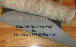 "Premium Rubber Non Skid for runners 26"" to 27.5"" wide*"