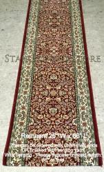 "Runner REMNANT 26"" x 86"" AG 57078 Red"