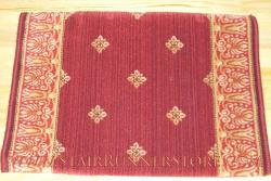 Stanton Harry Stair Runner Red Stone 31