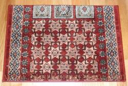 Timeless Treasures Royal Kazak Stair Runner Burgundy 26