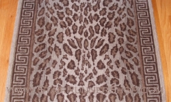 Wild Safari Stair Runner Pewter 30""