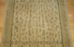 Wild Safari Stair Runner Stonewash 30""
