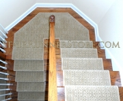riems stair runner custom angled landing 2612 small