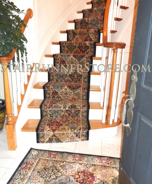 Superieur Curved Stair Runner Installation 1715