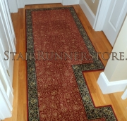 Custom Landing Hall Runner Installation 3269
