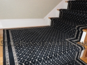 Custom Stair Runner Landing Intallation medium 1849