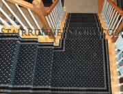 Custom Stair Runner Landing Intallation medium 1851