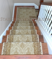 Custom Stair Runner Landing Intallation medium 1979