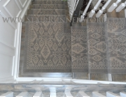 Istanbul Runner Custom Stair Runner Installation - small