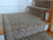 Sonja Stair Runner Custom Landing Installation 3447