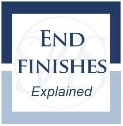 Custom stair runner end finishes explained
