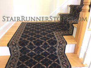 "Anastasia Stair Runner, Available 26"" or 31"" widths"