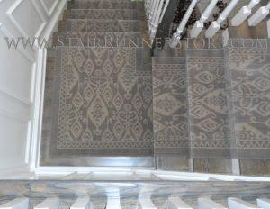Istanbul Runner Custom Stair Runner Installation