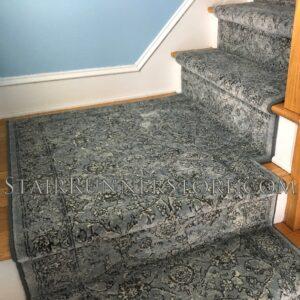 custom landing ancient garden stair runner