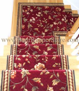Winslow Stair Runner Custom Continuous Landing