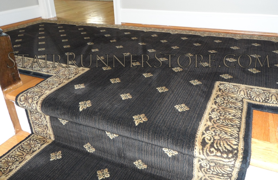 Custom T hall runner Harry stair runner 3063