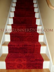 San Lorenzo Stair Runner Installation
