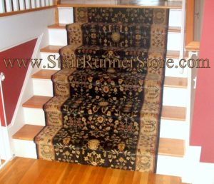 Sarouk stair runner 41 inches wide