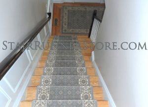 Couristan Palladino stair-runner-installation