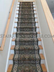 Ancient Garden stair-runner-installation