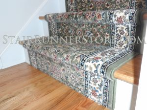 Ancient Garden stair-runner-installation